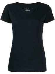 Majestic Filatures Basic T Shirt Black