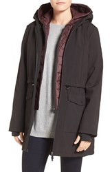 French Connection Women's Three Quarter Anorak With Removable Bib