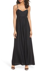 Felicity And Coco Colby Woven Maxi Dress Black