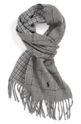 Polo Ralph Lauren Men's Reversible Wool Blend Scarf