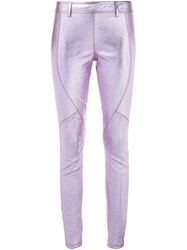 Faith Connexion Metallic Legging Pink And Purple