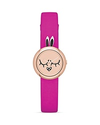 Marc By Marc Jacobs Katie The Bunny Dinky Watch 22.5Mm Hot Pink
