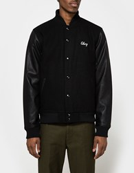Obey Soto Collegiate Jacket Black