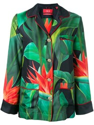 F.R.S For Restless Sleepers Flower Print Shirt Green