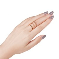 Astrid And Miyu Mystic Ring In Gold