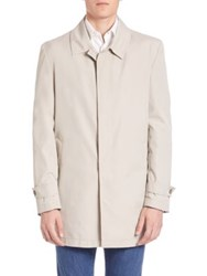 Isaia Double Face Trenchcoat Beige