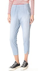 Amo Twist Pull On Pants Med Chambray