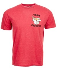 Univibe Team Takeout T Shirt By Dark Red