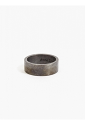 Acne Studios X All_Blues Men's Oxidized Silver Ring
