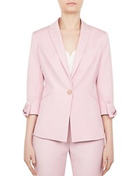 Ted Baker Toply Bow Detail Blazer Lilac