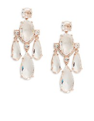 Kate Spade Cascade Drop Earrings Rose Gold