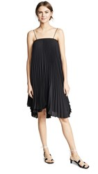 Loyd Ford Pleated Mini Dress Black