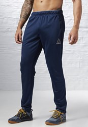 Reebok Workout Ready Trackster Tracksuit Bottoms Collegiate Navy Blue