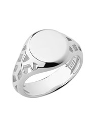 Links Of London Timeless Sterling Silver Signet Ring Silver