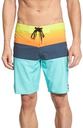 Billabong Men's 'Tribong X' Board Shorts Mint Blue