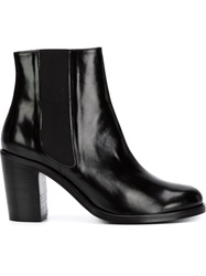 Folk 'Dilys' Booties Black