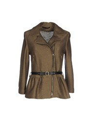 Atos Lombardini Suits And Jackets Blazers Women Khaki