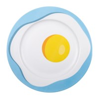 Seletti 'Blow' Porcelain Dinner Plate Egg