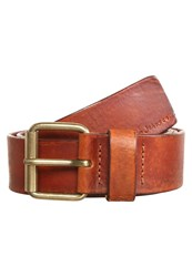 Nudie Jeans Fredsson Belt Brown Dark Brown