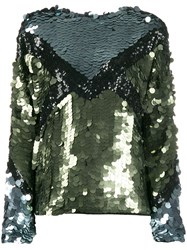 Tela Explosion Sequin Embroidered Top 60