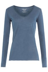 Majestic Cotton Blend Top With Cashmere Gr. 2