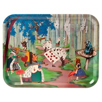 Avenida Home Louise Kirk Alice In Wonderland Tray Alice Lost In The Woods