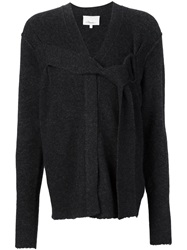 3.1 Phillip Lim Belted Detail Cardigan Grey