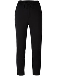 Golden Goose Deluxe Brand Cropped Trousers Black