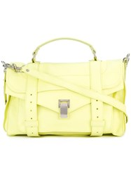 Proenza Schouler Medium Ps1 Satchel Yellow Orange