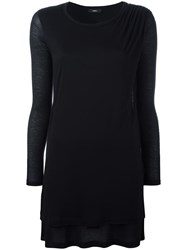 Diesel Flared Dress Black