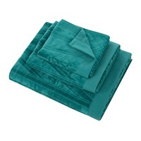 Roberto Cavalli Deco Towel Teal Green