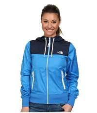The North Face Bluewind Full Zip Hoodie Clear Lake Blue Women's Coat