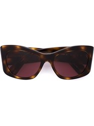 Oliver Peoples 'Bother Me' Sunglasses Brown