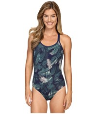 Carve Designs Beacon Full Piece Anchor Palm Beach Women's Swimsuits One Piece Blue