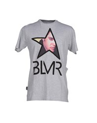 Blomor Topwear T Shirts Men Light Grey