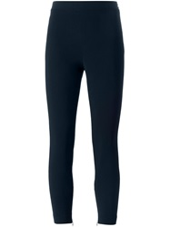 Theory Zip Leggings Blue