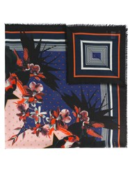 Givenchy Floral Star Print Scarf
