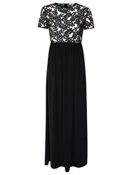 True Decadence Embellished Maxi Dress Black