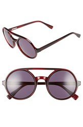 Derek Lam Women's 'Morton' 52Mm Sunglasses Red Feather
