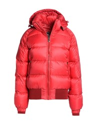 Pyrenex Down Jackets Red