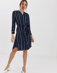 Selected Femme Stripe Mini Shirt Dress Multi