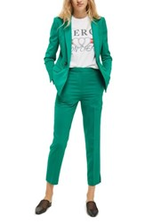 Topshop Women's Tailored Cigarette Trousers Jade