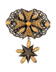 First People First Jewellery Brooches Women Bronze