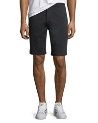 7 For All Mankind Men's Stretch Chino Shorts Deep Sea