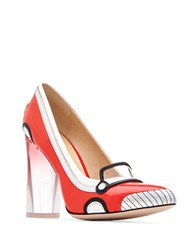 Katy Perry Thelma Patent Leather Pumps Cherry Red