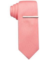 Alfani Spectrum Text Prom Solid Slim Tie Only At Macy's