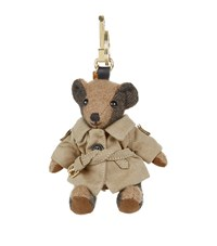 Burberry Shoes And Accessories Thomas Trench Bear Charm Female Camel