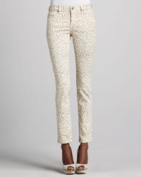 Christopher Blue Sophia Animal Print Skinny Jeans 4