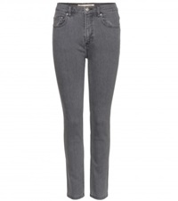 Marc By Marc Jacobs Ella Cropped Skinny Jeans Grey