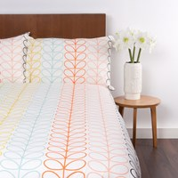 Orla Kiely Linear Stem Duvet Cover Multi Super King